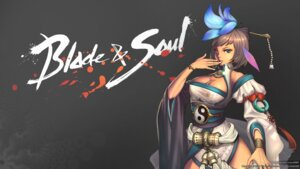 Rating: Questionable Score: 20 Tags: blade_&_soul cleavage thighhighs wallpaper xiang User: SamSparrow07