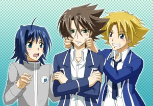 Rating: Safe Score: 1 Tags: cardfight_vanguard kai_toshiki male miwa_taishi seifuku sendou_aichi tsunoda_wei User: charunetra