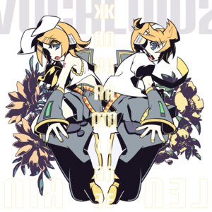 Rating: Safe Score: 6 Tags: kagamine_len kagamine_rin ulogbe vocaloid User: yumichi-sama