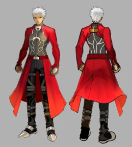 Rating: Safe Score: 9 Tags: archer character_design fate/extra fate/stay_night male User: Yokaiou
