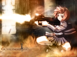 Rating: Safe Score: 20 Tags: gunslinger_girl henrietta_(gunslinger_girl) wallpaper User: boon