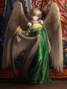 Rating: Safe Score: 36 Tags: dress janemere wings User: Radioactive