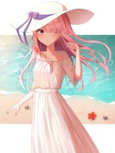 Rating: Safe Score: 24 Tags: dress ram_(re_zero) re_zero_kara_hajimeru_isekai_seikatsu summer_dress yeorem User: Arsy