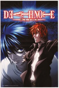 Rating: Safe Score: 6 Tags: death_note disc_cover l male yagami_light User: Radioactive