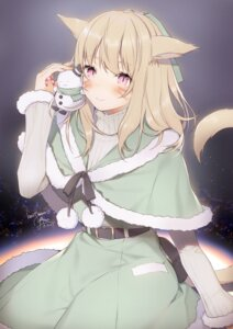 Rating: Safe Score: 25 Tags: animal_ears final_fantasy final_fantasy_xiv miqo'te tail yana_mori User: Mr_GT