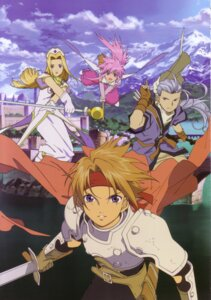 Rating: Safe Score: 3 Tags: arche_klein armor chester_barklight cless_alvein mint_adnade sword tagme tales_of tales_of_phantasia User: Radioactive