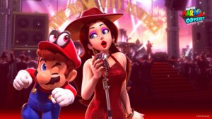 Rating: Questionable Score: 7 Tags: dress mario mario_bros. nintendo pauline wallpaper User: fly24