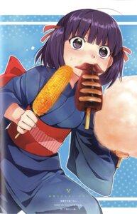 Rating: Safe Score: 11 Tags: binding_discoloration kawai_makoto kimono koufuku_graffiti morino_kirin User: fireattack