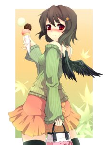 Rating: Safe Score: 13 Tags: shameimaru_aya touhou uruugekka wings User: charunetra