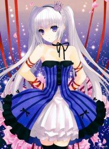 Rating: Safe Score: 113 Tags: dress suzuhira_hiro thighhighs User: Hatsukoi