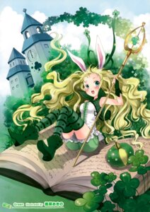 Rating: Safe Score: 15 Tags: animal_ears bunny_ears kaedena_akino thighhighs User: Hatsukoi