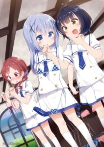Rating: Safe Score: 49 Tags: bikini digital_version gochuumon_wa_usagi_desu_ka? joukawa_maya kafuu_chino natsu_megumi seifuku swimsuits tousaki_shiina User: AltY