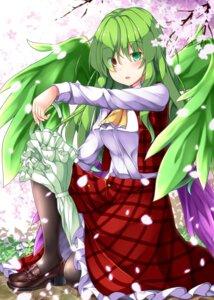 Rating: Safe Score: 17 Tags: aka_tawashi heels heterochromia kazami_yuuka pantyhose touhou umbrella wings User: Mr_GT