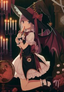 Rating: Safe Score: 63 Tags: lolita_fashion wings witch yashiro_seika User: kiyoe
