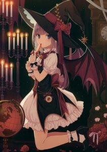 Rating: Safe Score: 52 Tags: lolita_fashion wings witch yashiro_seika User: kiyoe