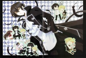Rating: Safe Score: 3 Tags: alice_(pandora_hearts) crease emily_(pandora_hearts) gilbert_nightray oz_vessalius pandora_hearts screening xerxes_break User: acas