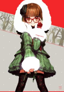 Rating: Safe Score: 34 Tags: megane thighhighs wada_rco wadamemo User: yong