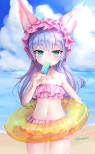 Rating: Safe Score: 56 Tags: animal_ears bikini elin enepuni swimsuits tera_online User: Mr_GT