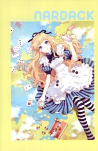 Rating: Safe Score: 48 Tags: alice alice_in_wonderland dress nardack pantyhose User: Radioactive