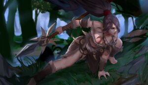Rating: Safe Score: 18 Tags: bcopy cleavage league_of_legends nidalee tattoo weapon User: mash
