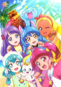 Rating: Questionable Score: 10 Tags: animal_ears star_twinkle_precure tagme User: drop