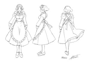 Rating: Safe Score: 3 Tags: character_design heels himeno_fumi hisayuki_hirokazu mai_hime maid User: Radioactive