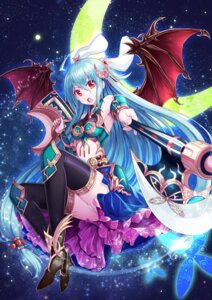 Rating: Safe Score: 48 Tags: animal_ears armor heels ling_si pantsu thighhighs weapon wings User: Mr_GT