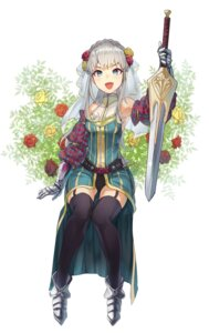 Rating: Safe Score: 31 Tags: armor hieung stockings sword thighhighs User: charunetra