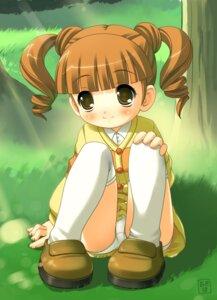 Rating: Questionable Score: 17 Tags: akiba_hideki funifuniya loli onegai_my_melody pantsu seifuku yumeno_uta User: hugo_victor