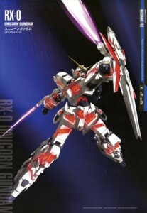 Rating: Safe Score: 12 Tags: gundam gundam_unicorn mecha sword tsunoda_katsutoshi unicorn_gundam User: Radioactive