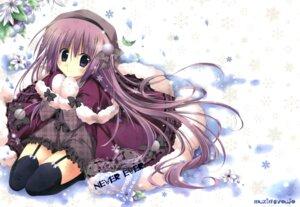 Rating: Safe Score: 34 Tags: korie_riko mujin_shoujo stockings thighhighs User: Twinsenzw