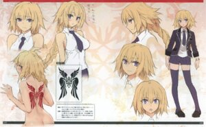 Rating: Questionable Score: 37 Tags: ass character_design fate/apocrypha fate/stay_night jeanne_d'arc jeanne_d'arc_(fate/apocrypha) naked ruler_(fate/apocrypha) seifuku tattoo thighhighs type-moon User: 逍遥游