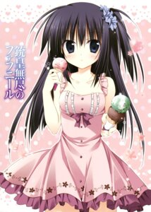 Rating: Questionable Score: 39 Tags: dress juuoumujin_no_fafnir korie_riko mononobe_mitsuki summer_dress User: Twinsenzw
