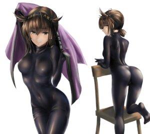 Rating: Questionable Score: 46 Tags: ass bodysuit hatsuzuki_(kancolle) kantai_collection kokuzoo User: Mr_GT