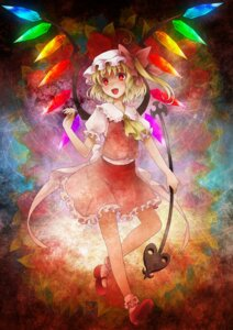 Rating: Safe Score: 12 Tags: flandre_scarlet michii_yuuki touhou wings User: fireattack