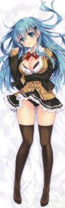 Rating: Questionable Score: 141 Tags: bra carnelian cleavage dakimakura kantai_collection open_shirt pantsu seifuku suzuya_(kancolle) sweater thighhighs User: DDD