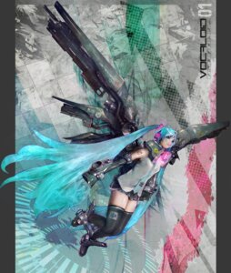 Rating: Safe Score: 10 Tags: hatsune_miku vocaloid zaneri User: Radioactive