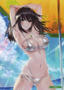 Rating: Questionable Score: 79 Tags: bikini erect_nipples kodama_(wa-ka-me) swimsuits User: Hatsukoi