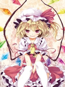Rating: Safe Score: 18 Tags: flandre_scarlet tamago_gohan thighhighs touhou User: Radioactive