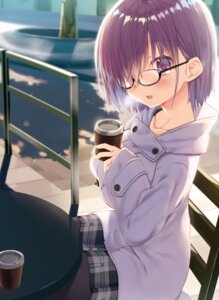 Rating: Safe Score: 36 Tags: fate/grand_order kagome mash_kyrielight megane pantyhose User: edogawaconan
