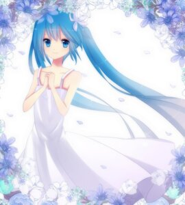 Rating: Safe Score: 39 Tags: dress hatsune_miku mei1225 summer_dress vocaloid User: aihost