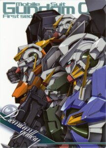 Rating: Safe Score: 9 Tags: gundam gundam_00 gundam_dynames gundam_exia gundam_kyrios gundam_virtue mecha screening User: harimahario