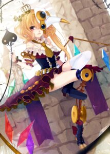 Rating: Safe Score: 22 Tags: dress flandre_scarlet renkarua thighhighs touhou User: blooregardo