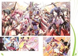 Rating: Questionable Score: 33 Tags: armor cleavage loli naked pantsu sword tsurugi_hagane User: fireattack