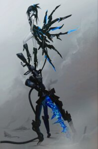 Rating: Questionable Score: 56 Tags: black_rock_shooter black_rock_shooter_(character) heels huke weapon wings User: h71337