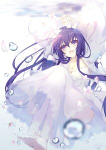 Rating: Safe Score: 55 Tags: cleavage date_a_live dress tagme wedding_dress yatogami_tooka User: kiyoe