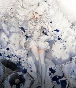 Rating: Safe Score: 29 Tags: aitsuki_nakuru aitsuki_nakuru_youtube_channel cierra_(artist) dress skirt_lift thighhighs User: whitespace1