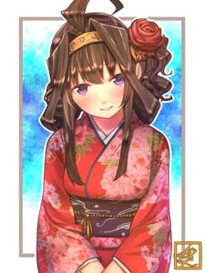 Rating: Safe Score: 43 Tags: baffu kantai_collection kimono kongou_(kancolle) User: Mr_GT