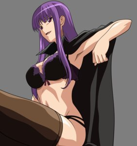 Rating: Questionable Score: 42 Tags: bra etou_fujiko ichiban_ushiro_no_daimaou lingerie pantsu thighhighs transparent_png vector_trace User: ManaAlchemist