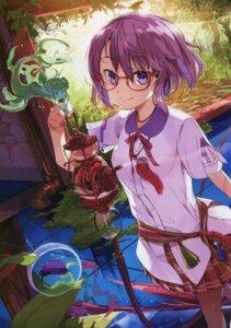 Rating: Questionable Score: 21 Tags: megane monster_girl pointy_ears seifuku tagme User: Radioactive